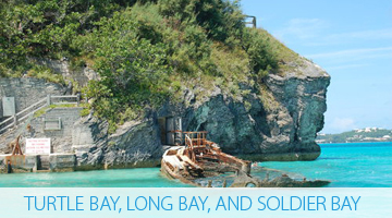 Turtle Bay, Long Bay, and Soldier Bay - Bermuda Explorer